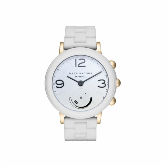 582aff662 Marc Jacobs - Riley Hybrid Smartwatch 44mm Aluminum - Gold-tone and ...