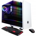 CyberPowerPC - Gamer Xtreme Gaming Desktop - Intel Core i3-9100F - 8GB Memory - AMD Radeon RX 580 - 1TB HDD + 240GB SSD - White