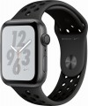Apple - Apple Watch Nike+ Series 4 (GPS), 44mm Space Gray Aluminum Case with Anthracite/Black Nike Sport Band - Space Gray Aluminum