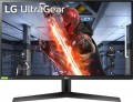 """LG - 27"""" UltraGear Full HD IPS Gaming Monitor with 1ms Response Time with NVIDIA G-SYNC Compatibility - Black - Black"""