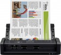 Epson - Workforce ES-300W Wireless Duplex Mobile Document Scanner - Black