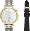 kate spade new york - metro grand Hybrid Smartwatch 39.5mm Stainless Steel - Two tone gold