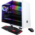 CyberPowerPC - Gaming Desktop - AMD Ryzen 5 3600 - 16GB Memory - NVIDIA GeForce GTX 1660 - 512GB Solid State Drive - White