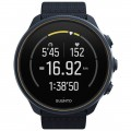 SUUNTO - 9 Baro Titanium Outdoor/Sports Adventure Tracking Connected Watch with GPS and Heart Rate - Blue Titanium