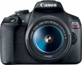 Canon - EOS Rebel T7 DSLR Camera with 18-55mm Lens - Black