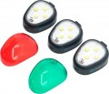 Lume Cube - Strobe Anti-Collision Light for Most Drones (3-Pack) - Black