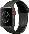 Apple Watch Edition (GPS + Cellular), 38mm Gray Ceramic Case with Gray/Black Sport Band - Gray Ceramic