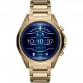 Armani Exchange - Connected Smartwatch 48mm Stainless Steel - Gold Stainless Steel